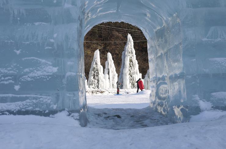 얼음 광화문
