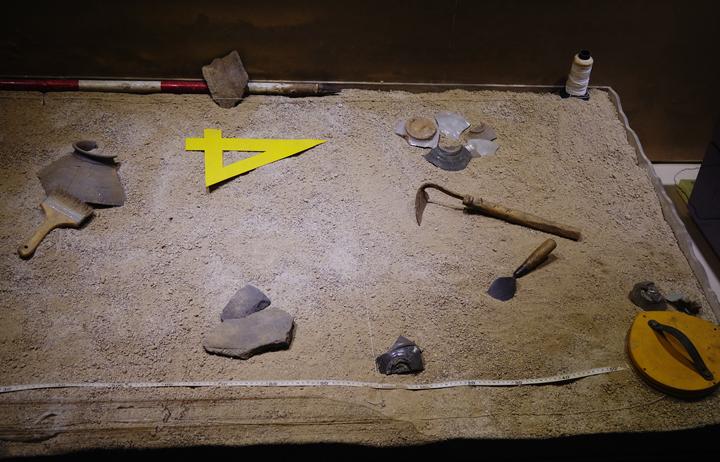 유적발굴 연출공간