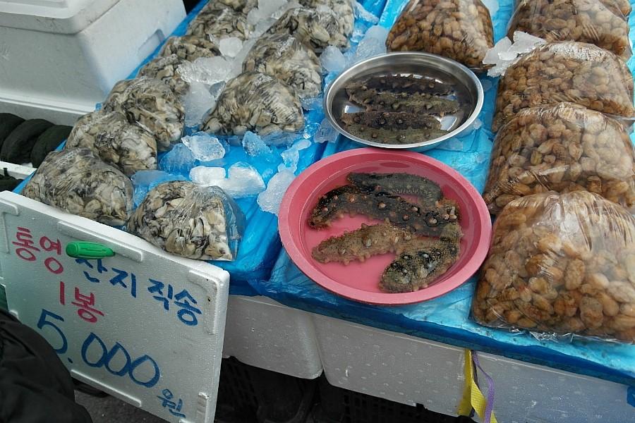 통영산지직송 해산물1