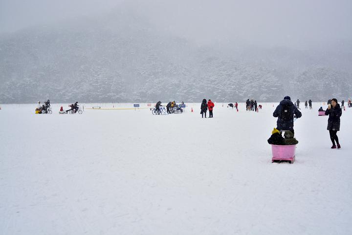 산정호수 썰매축제
