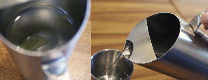 물을 담은 주전자