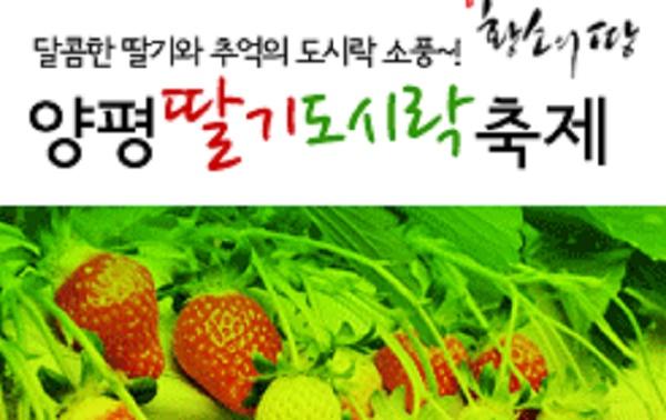 물맑은 양평 딸기 도시락 축제 2017