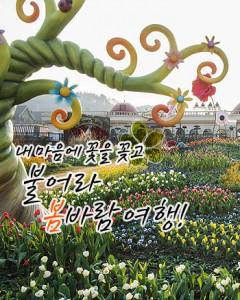 내 마음에 꽃을 꽂고, 불어라 봄바람 여행!