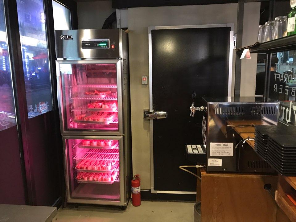 고기 숙성 냉장고