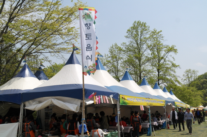 양평 용문산 산나물 축제 2017