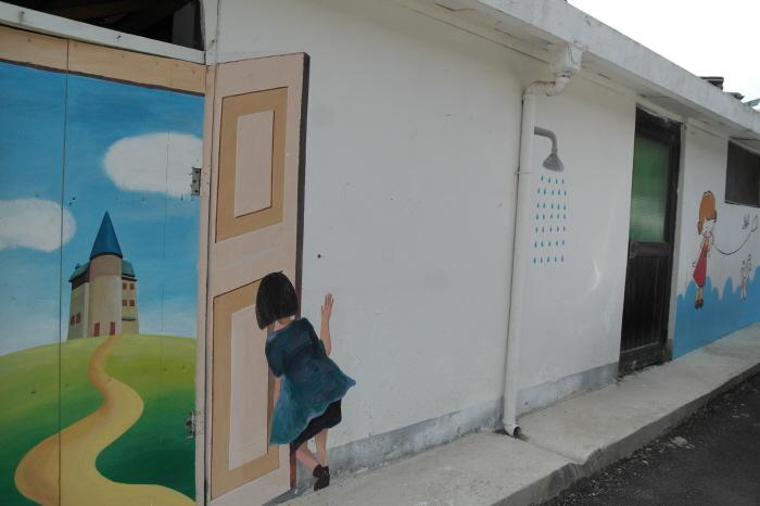 양평 용문산 벽화마을