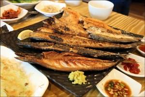 성남 맛집-사랑이네 연탄불 생선구이