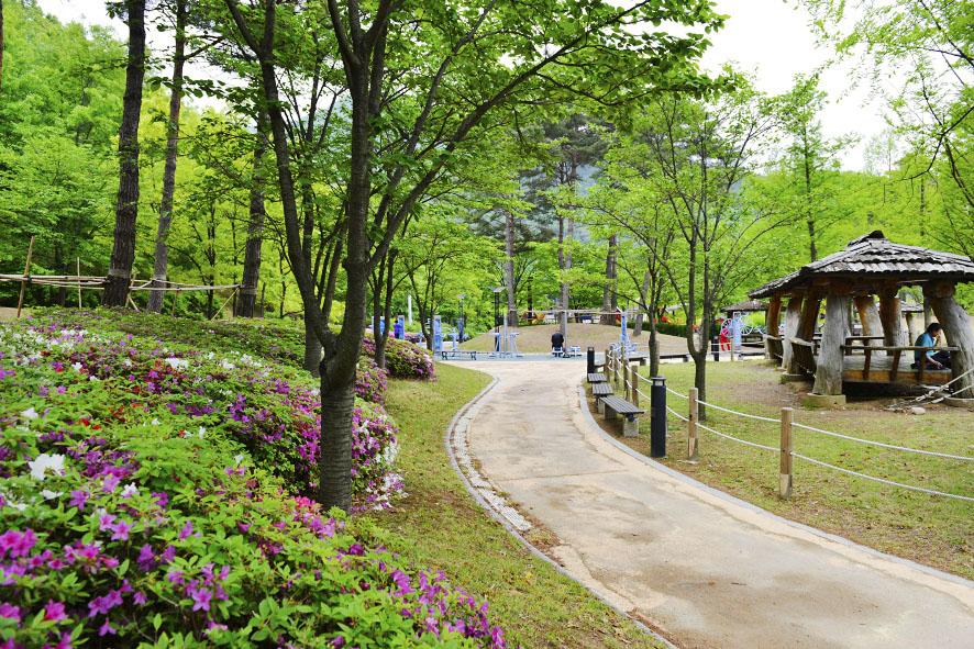 병목안 시민공원 풍경