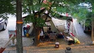 올여름 휴가에는 캠핑을 떠나볼까 /한탄강 관광지 오토캠핑장