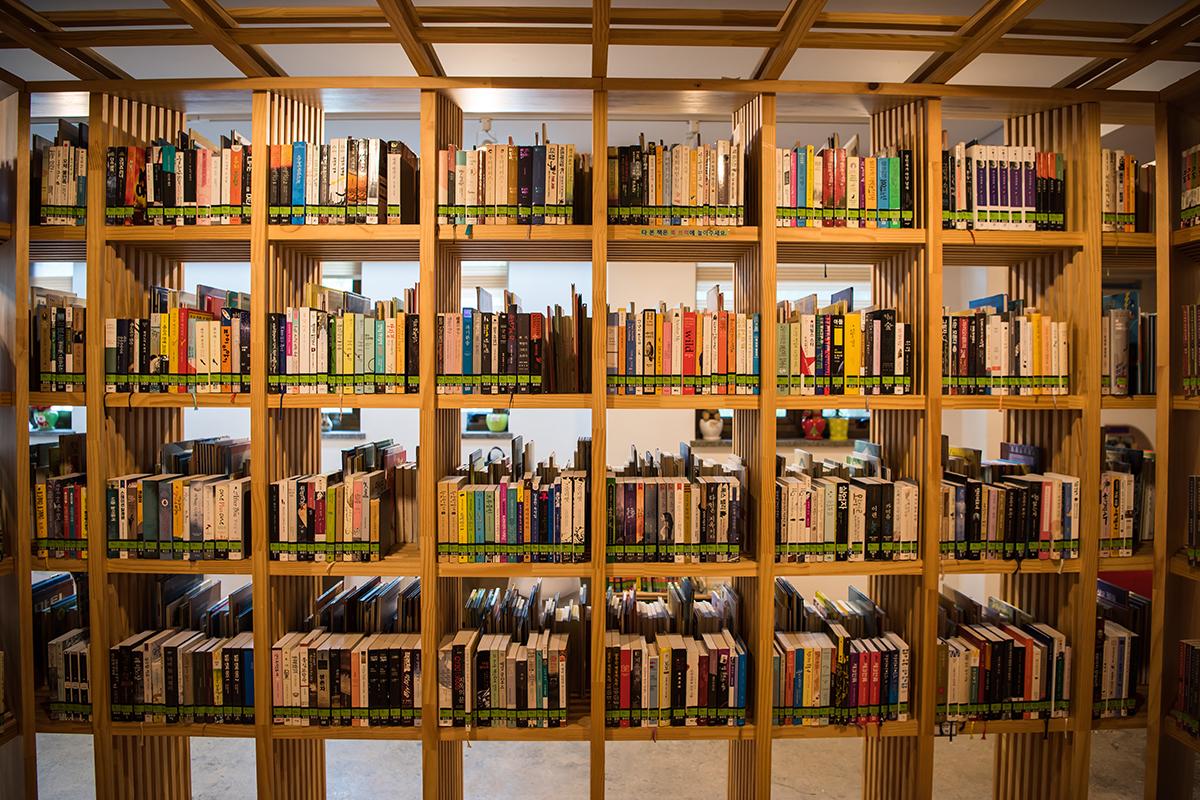 도서관의 책들