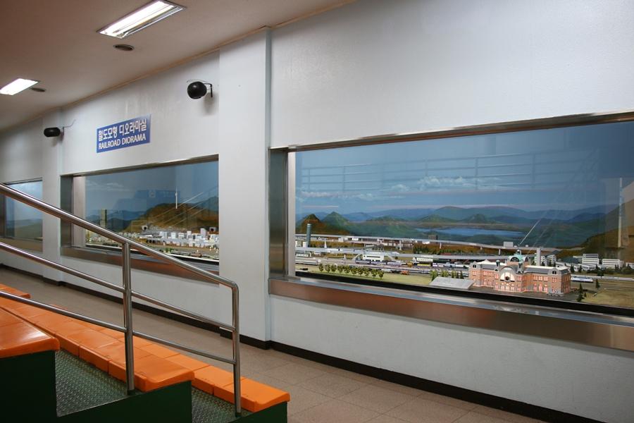철도모형 디오라마실