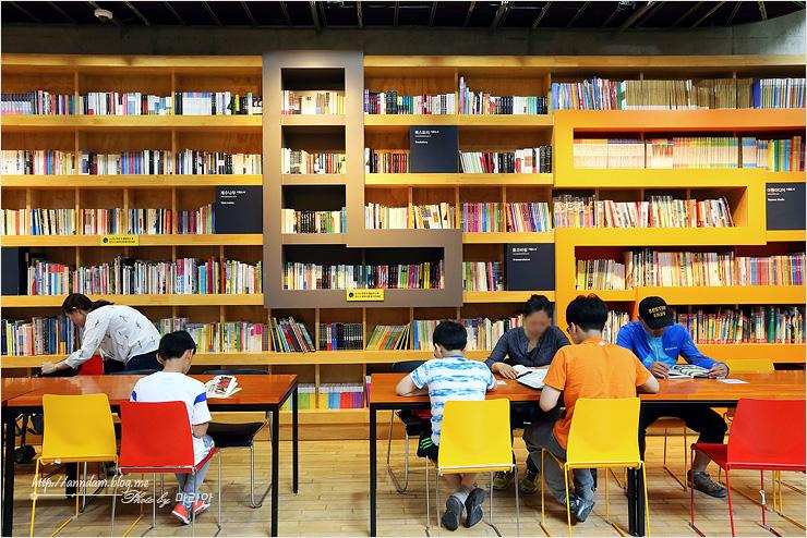 어린이 책이 있는 공간