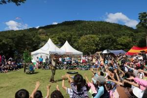용인자연휴양림 도심속캠핑축제 및 나눔목공축제