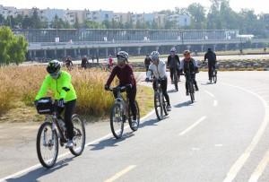 11월 #1. 탄천 가을을 달리다! '성남 탄천자전거도로'