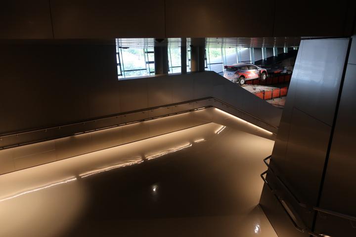 현대 모터스튜디오 고양 2층