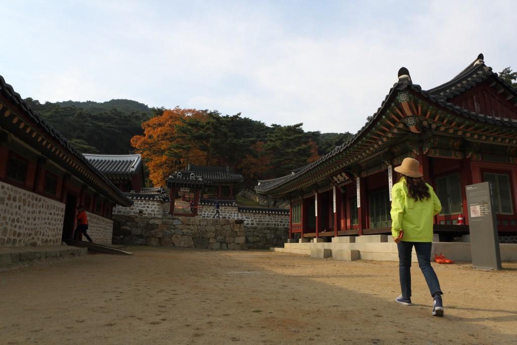 남한산성행궁 안쪽 전경1