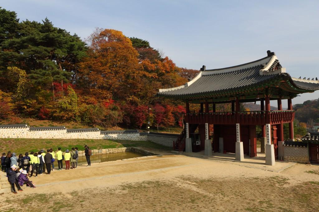 남한산성행궁 안쪽 전경