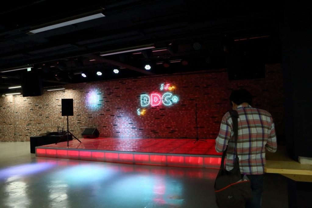 두드림 뮤직센터 공연장 모습