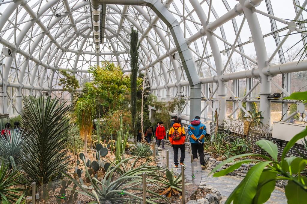 포천 국립수목원내 식물원