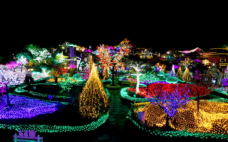 허브아일랜드 불빛동화축제2