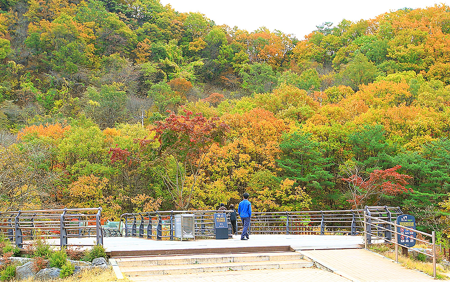 가을여행주간-경기도 연천 재인폭포 단풍여행