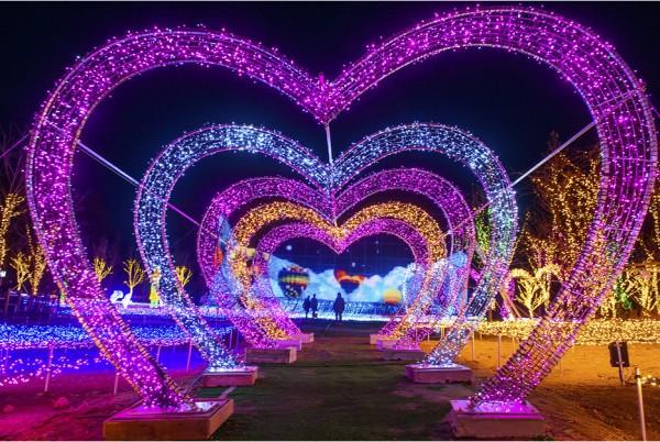 겨울여행주간 ,별빛이 쏟아 내리는 파주프로방스 별빛축제