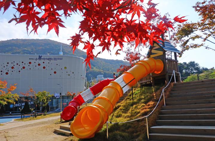 경기북부 어린이박물관의 가을