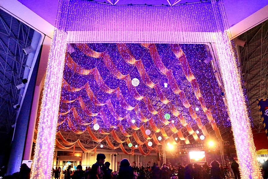 고양꽃전시관 무대에도 화려한 빛축제