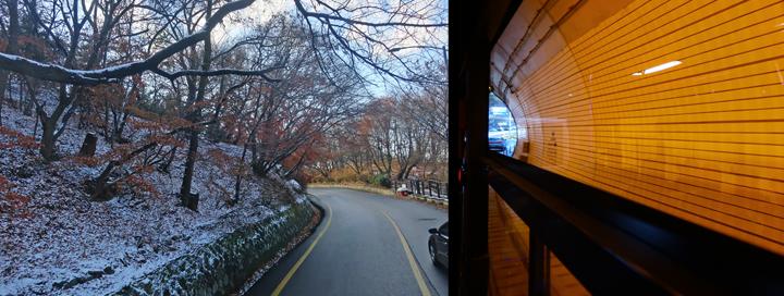 버스 타고 남한산성으로