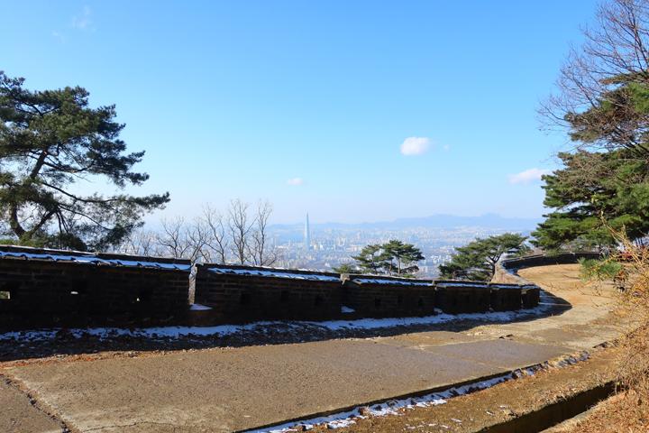 남한산성에서