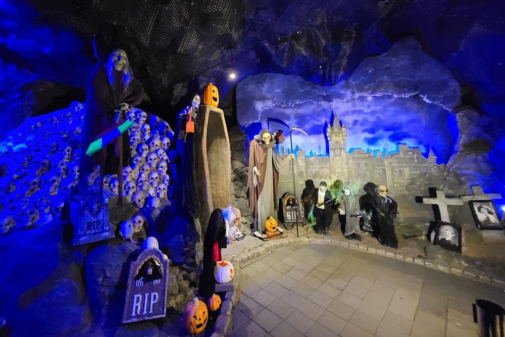 여름 국내 여행지 광명 가볼만한곳 광명동굴 공포체험관 기념포토존