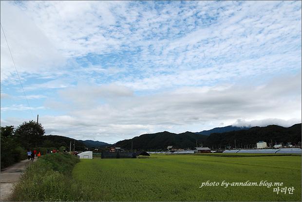 구름이 가득한 하늘