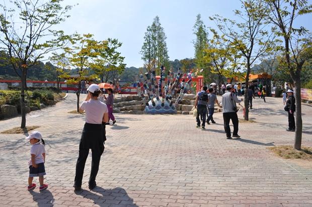 관람객들의 모습