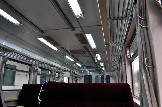 열차의 내부