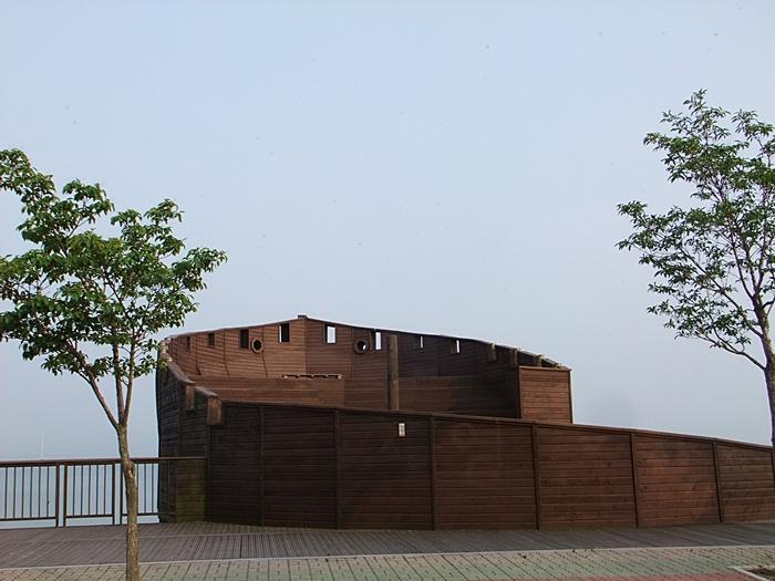 평택호 전망대의 모습