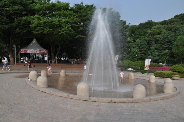 분수대의 모습