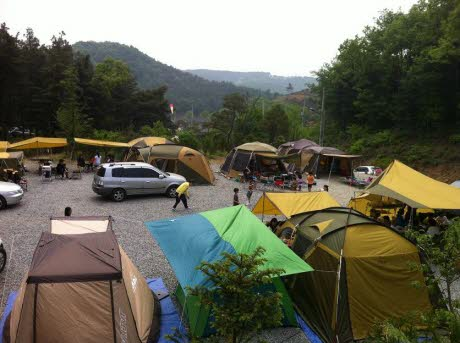 용인 별꽃해 캠핑장