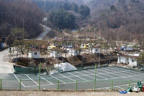 장흥수목원 캠핑장2