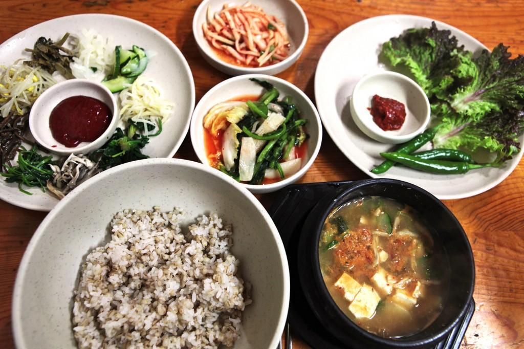 서삼릉보리밥
