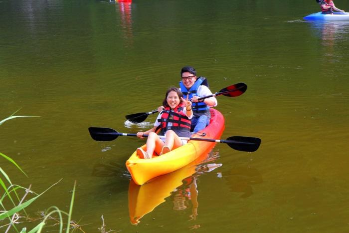 양평 수미마을축제 카누체험