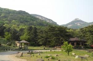 산들소리수목원 풍경