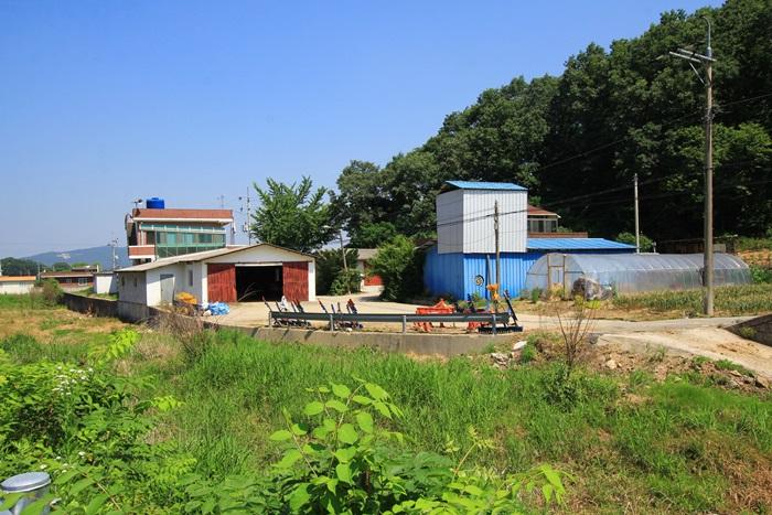 비닐하우스와 창고
