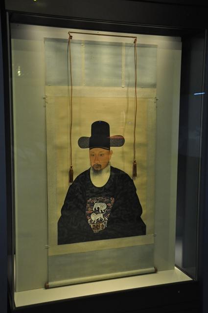 김후 초상