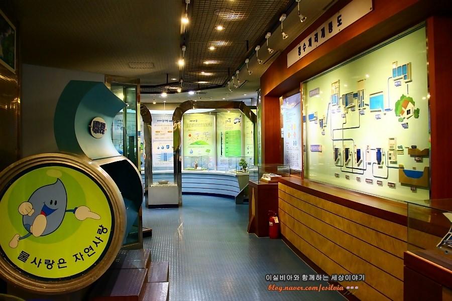 부천물박물관 전시실 전경