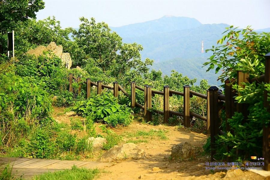 소요산 공주봉 주변 풍경