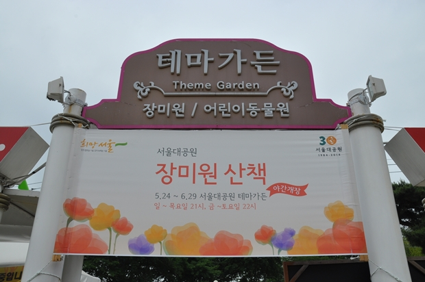 서울대공원 장미원