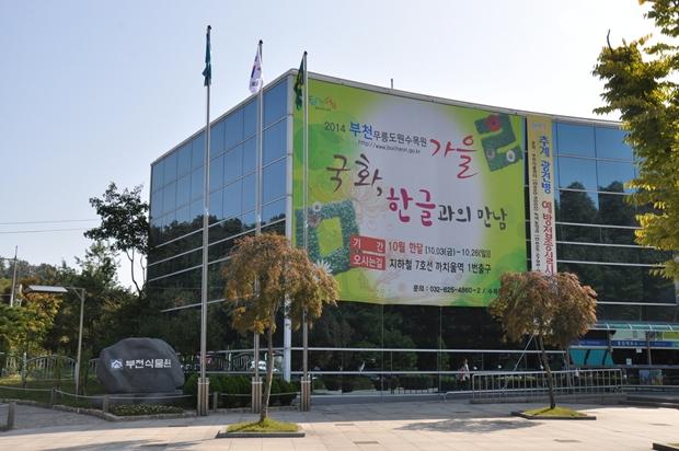 경기도 부천 가볼만한곳 - 2014년 부천무릉도원수목원 국화전시회