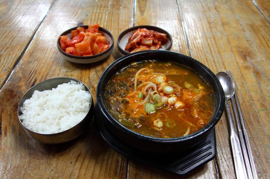 안성장터국밥