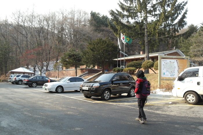 천마산 관리사무소 주차장