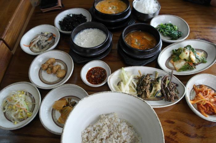 보리밥 한 상